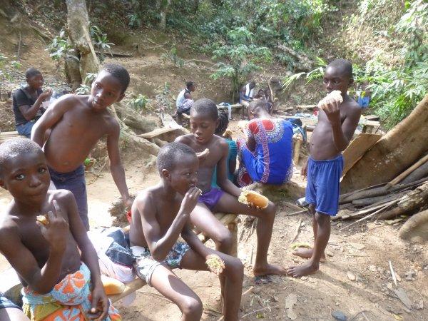 Sorties avec les orphelins et les enfants de Gati au Togo janvier 2017