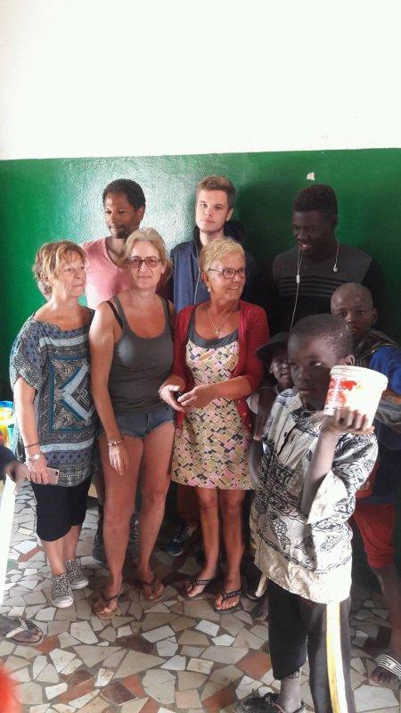 Centre d'accueil des enfants des rues à Saly au Sénégal et remerciements février 2017