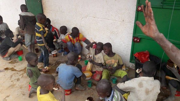Parrainage à Saly au Sénégal février 2017