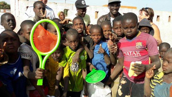 Centre d'accueil des enfants des rues à Saly Sénégal février 2017