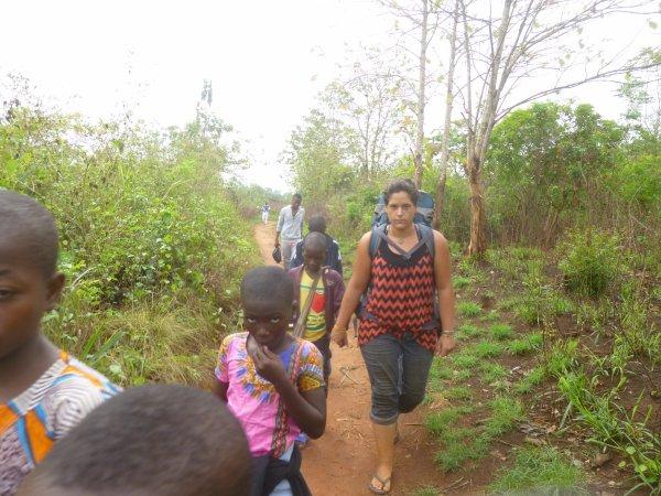 Notre volontaire de février et remerciement Togo mars 2017