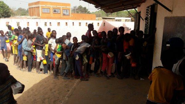 Parrainage à Saly au Sénégal avril 2017