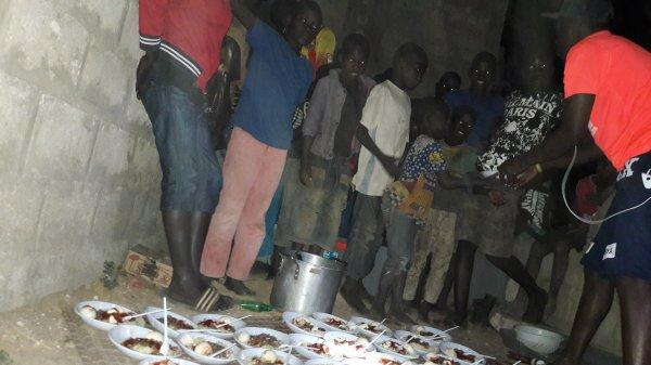Besoin d'aide pour les repas dans les Daraas à Saly au Sénégal avril 2017