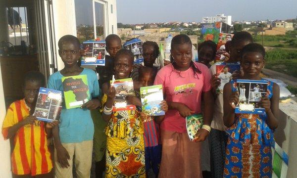 Parrainage et écolage à Saly au Sénégal octobre 2017