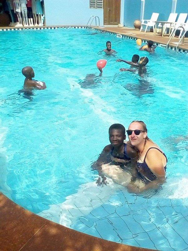 Nos volontaires au Togo novembre 2017