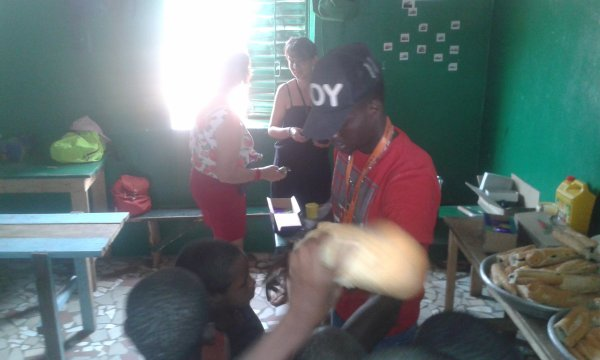 Centre d'accueil des enfants des rues à Saly au Sénégal et remerciements novembre 2017