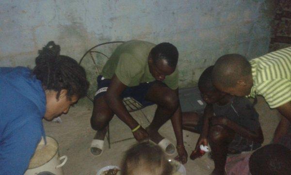 Repas dans les Daraas et à la maison Sénégal novembre 2017
