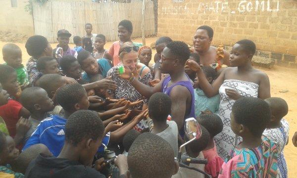Noel et remerciements Togo décembre 2017