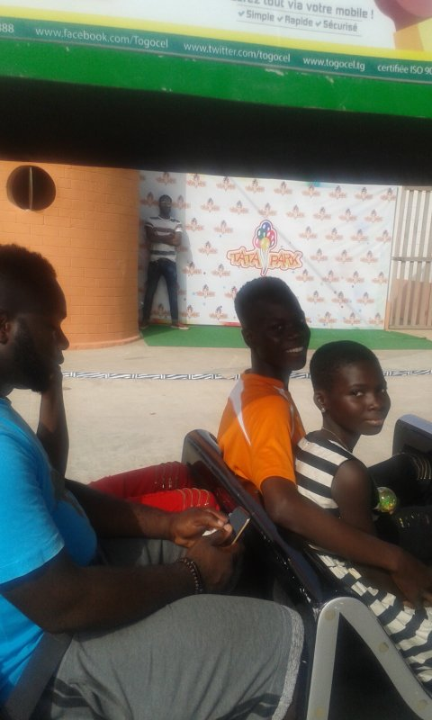 Sortie avec les enfants Togo décembre 2017