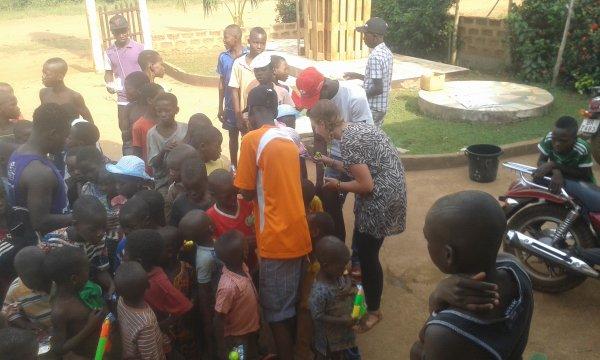 Des nouvelles du bébé et remerciement Togo décembre 2017