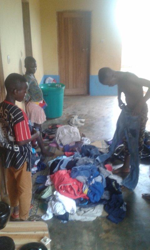 La vie dans notre orphelinat Togo juin 2018