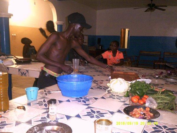 La vie dans notre orphelinat Togo septembre 2018