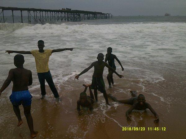 Sorties à Lomé avec les enfants Togo septembre 2018