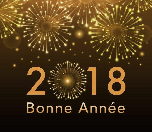 Bonne Année 2018 a tout le monde