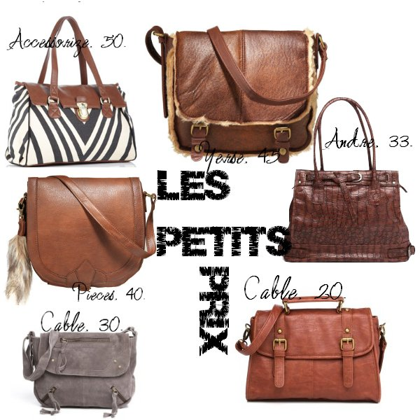 Bags selection.