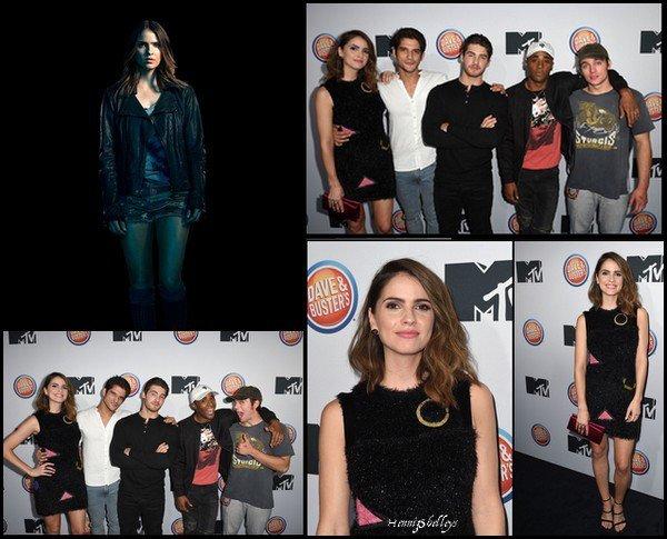 - Le 15 Novembre 2016, Shelley était présente avec une partie du cast au MTV USA, à la première de la saison 6 de Teen Wolf.   -   Shelley était magnifique, j'adore sa robe, et sa mise en beauté, un grand TOP. -
