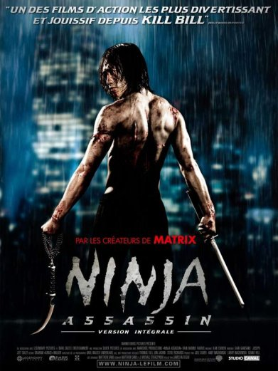 Ninja Assassin: American/KMovie - Action - Drama - 1h39min (févr 2010)