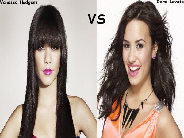 Vanessa Hudgens VS Demi Lovato