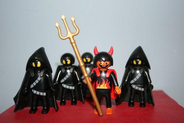L'armée du diable...
