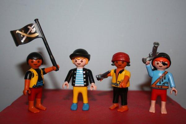 Les enfants pirates.