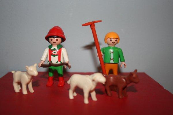 Les fermiers et fermières