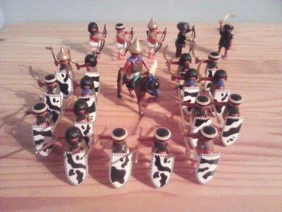 Les formations de combat.