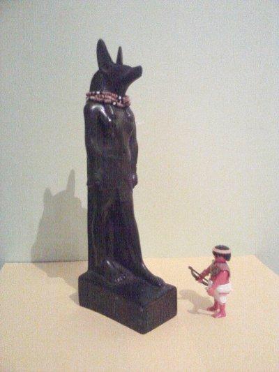 Les dieux de l'Egypte.