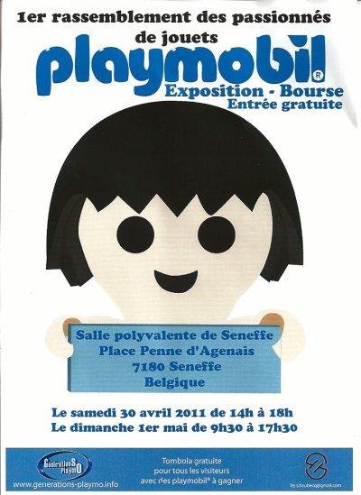 Expo Playmobil - Seneffe 2011 !!!