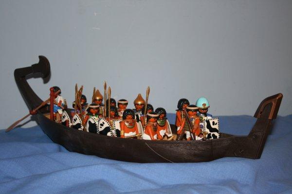 La barque Egyptienne !