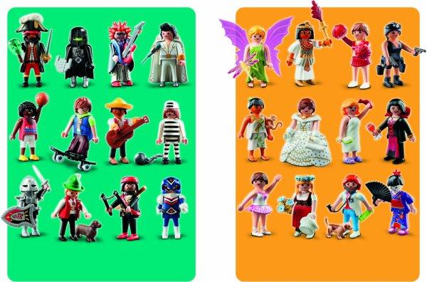 Playmobil figures en sachets surprises