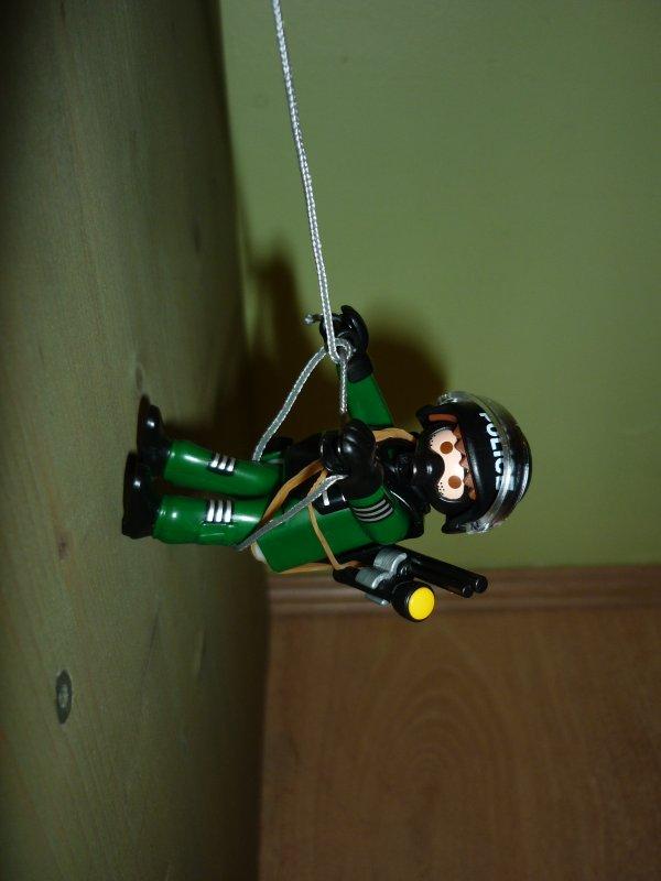 Police unité d'intervention urgente Playmobil (spécial 4693)
