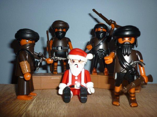 ! Il faut sauver petit papa Noël ! (spécial 4679 Playmobil)