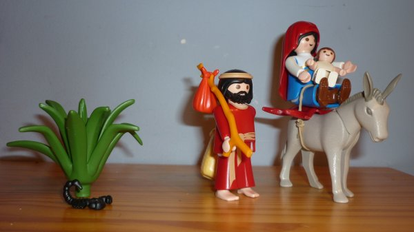 La crèche de Noël (Playmobil Ref 4884)