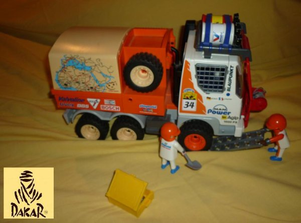 Paris-Dakar en Playmobil. (Ref 3044)