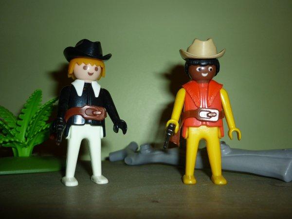 Playmobil Western Custom + décors.