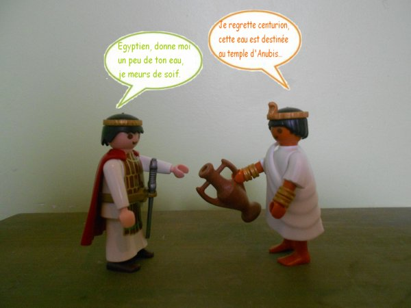BD Playmobil Egypte.