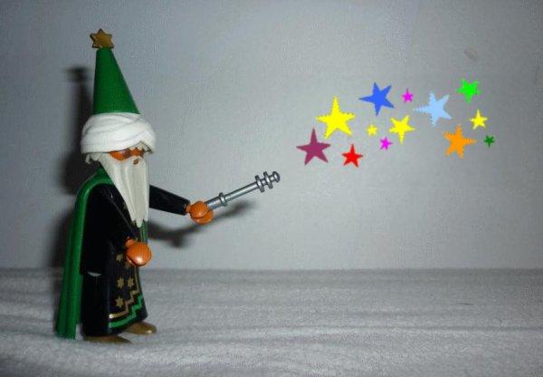 Playmobil, c'est magique :) (Magicien Playmobil - Ref : ???)