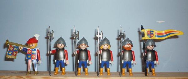 Playmobil chevaliers, Moyen-Age