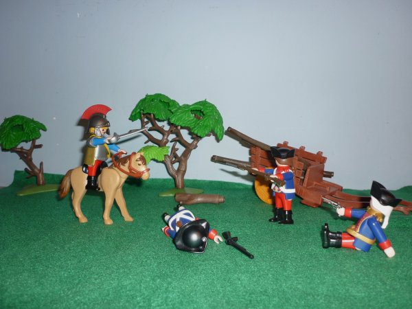 Cuirassier en Playmobil