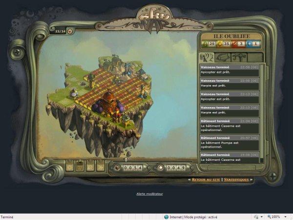 Skywar, un chouette jeu en ligne !