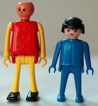 Play-big, le cousin défunt du Playmobil.