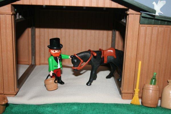 Playmobil : le ranch de Mr Fergusson.