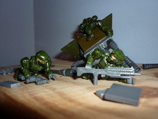 Halo wars de chez Mega Bloks.