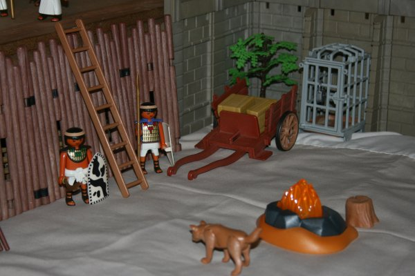 Ville Playmobil fortifiée