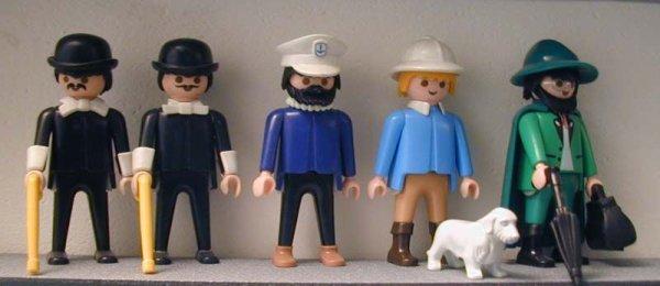 Tintin existe aussi en Playmobil.