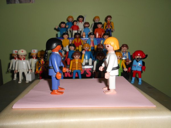 Playmobil Judokas (ref 5194 - Sports et Action)
