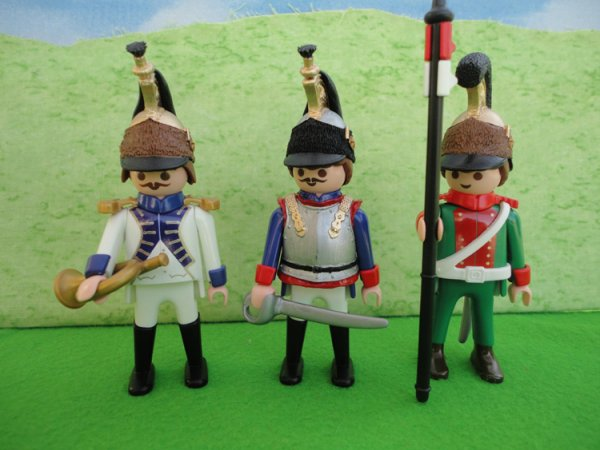 Customs Playmobil sur l'époque Napoléonienne. (Pas de moi)