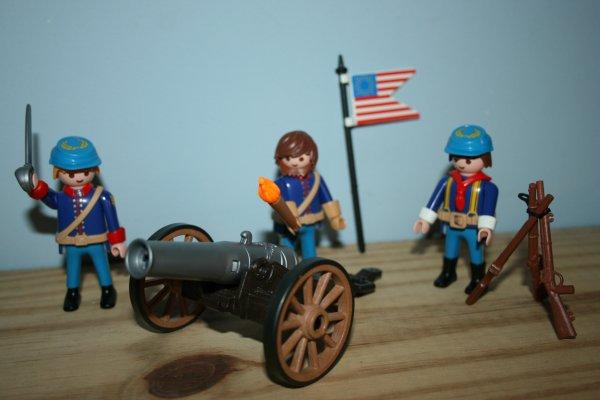 Artillerie Nordiste Playmobil ref : 5249.