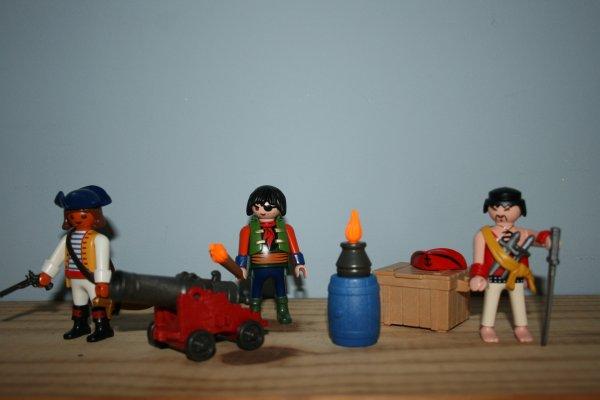 Pirates Playmobil (ref : 5136)