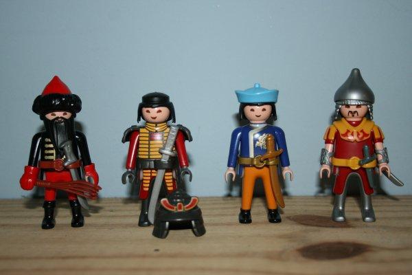 Mes Playmobils Asiatiques.